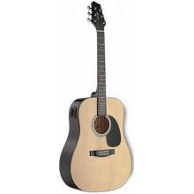 Электроакустическая гитара Stagg SW201-VT N