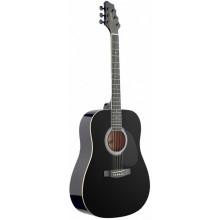 Акустическая гитара Stagg SW203 BK