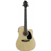 Электроакустическая гитара Stagg SW203CETU N