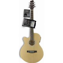 Электроакустическая гитара Stagg SW206CETU LH N