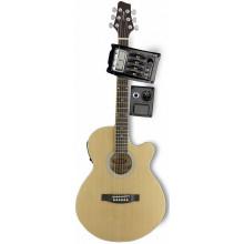 Электроакустическая гитара Stagg SW206CETU N