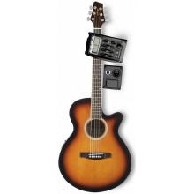 Электроакустическая гитара Stagg SW206CETU VS