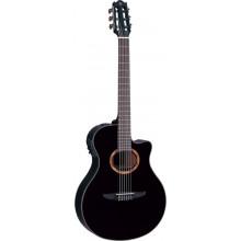 Классическая гитара с пъезозвукоснимателем Yamaha NTX700 BK