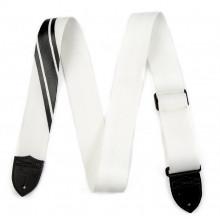 Гитарный ремень Fender Strap Competition Stripe White And Black
