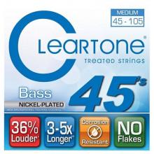 Струны для бас-гитары Cleartone 6445