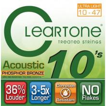 Струны для акустической гитары Cleartone 7410