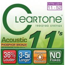 Струны для акустической гитары Cleartone 7411