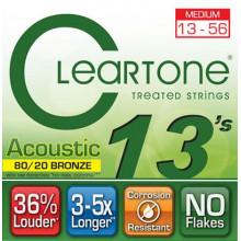 Струны для акустической гитары Cleartone 7613