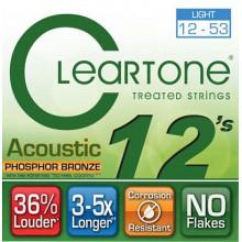 Струны для акустической гитары Cleartone 7412