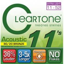 Струны для акустической гитары Cleartone 7611