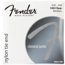 Струны для классической гитары Fender 100