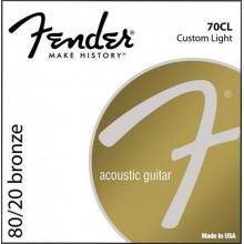 Струны акустической гитары Fender 70Cl