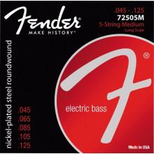 Струны для 5-струнной бас гитары Fender 7250 5M