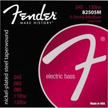 Струны для 5-струнной бас гитары Fender 8250 5M
