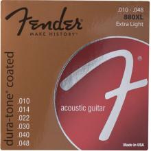 Струны акустической гитары Fender 880Xl
