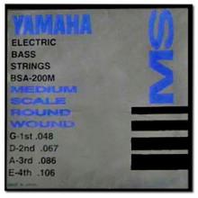 Струны для бас-гитары Yamaha BSA200M