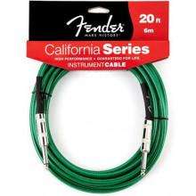 Инструментальный кабель Fender California Instrument Cable 20 SFG