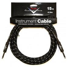 Инструментальный кабель Fender Custom Shop Cable 15 Black Tweed