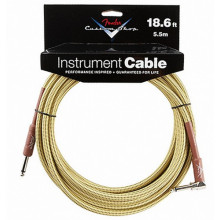 Инструментальный кабель Fender Custom Shop Performance Cable 18,6 Angled TW