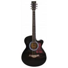 Акустическая гитара Maxtone WGC400N TBK