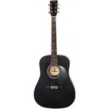 Акустическая гитара Maxtone WGC4010 BK