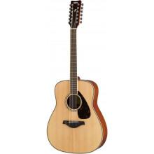 Акустическая гитара Yamaha FG820-12 NT