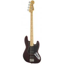 Бас-гитара Fender American Standard Sandblasted LTD Edition Jazz Bass MN Crimson Satin