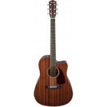 Электроакустическая гитара Fender CD-140SCE All Mahogany
