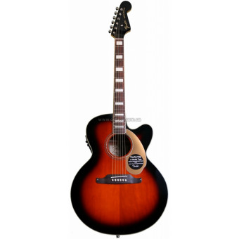 Электроакустическая гитара Fender Kingman SCE Jumbo 3TS