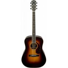 Электроакустическая гитара Fender PM-1 Paramount Deluxe Dreadnought Sunburst