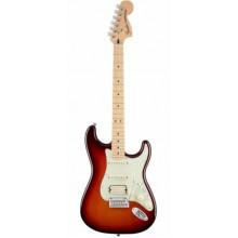 Электрогитара Fender Deluxe Stratocaster HSS MN Tobacco Sunburst