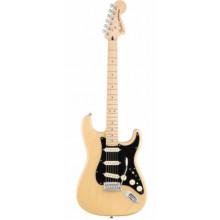 Электрогитара Fender Deluxe Stratocaster MN Sapphire Vintage Blond