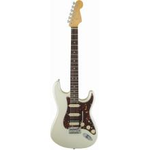 Электрогитара Fender American Elite Stratocaster HSS Shawbucker RW Olympic Pearl