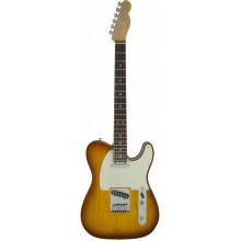 Электрогитара Fender American Elite Telecaster RW Tobacco Sunburst