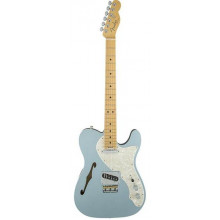 Электрогитара Fender American Elite Telecaster Thinline MN Mystic Ice Blue