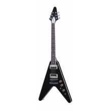 Электрогитара Gibson 2016 T Flying V Pro Ebony Chrome