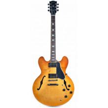Полуакустическая гитара Gibson ES-335 Faded Light Burst