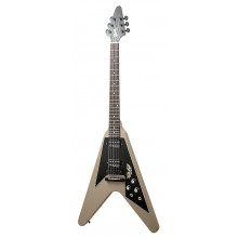 Электрогитара Gibson 2014 Flying V Government Series 2 Government Tan