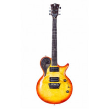 Электрогитара Universum Guitars Elena Delta Red Yellow Burst