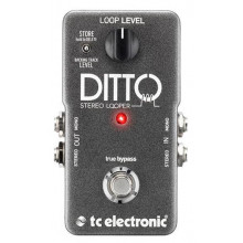 Гитарная педаль TC Electronic Ditto Stereo Looper