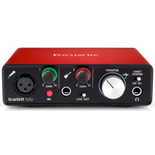 Аудиоинтерфейс Focusrite Scarlett Solo New