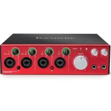 Аудиоинтерфейс Focusrite Clarett 4 Pre Thunderbolt