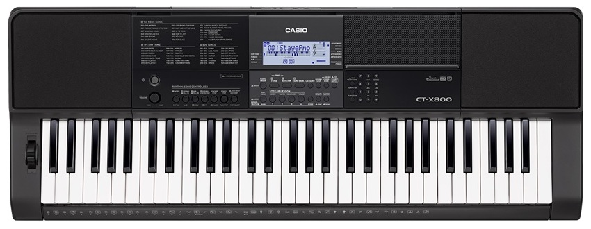 Синтезатор Casio-CT-X800