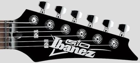 Головка грифа на Ibanez GSA60
